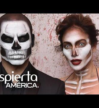 Trucos de maquillaje para halloween estilo calavera