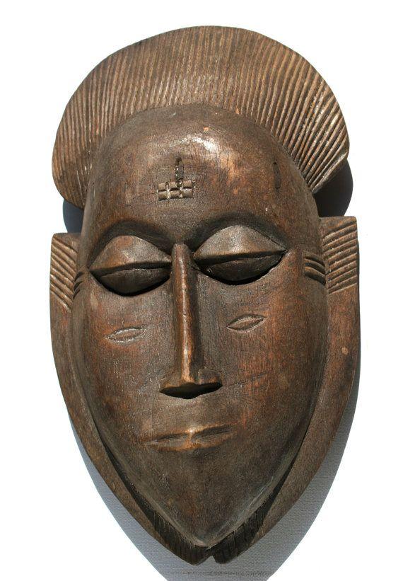 Mascaras africanas de madera